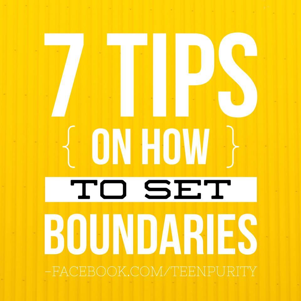 7 Tips on How to Set Boundaries